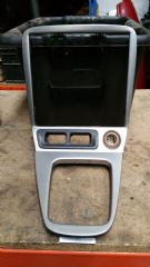 MAZDA MX5 EUNOS (MK2 / 2.5 1998 - 05 ) SILVER RADIO SURROUND / CONSOLE TRIM